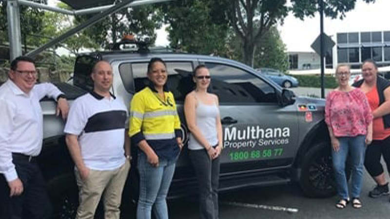 Multhana Property Services – Creating Career Opportunities for First Nations People