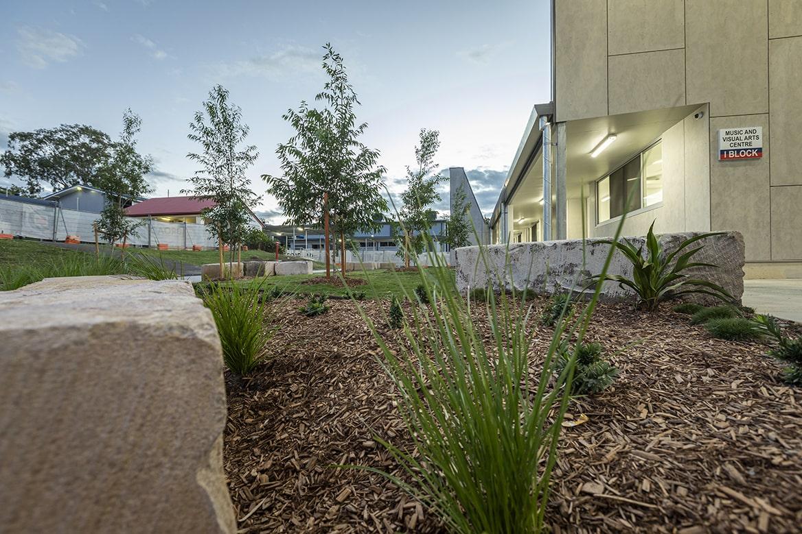 Multhana Property Services - commercial landscaping South East Queensland - Indigenous landscaper